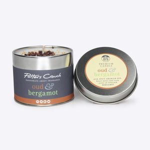 Potters Crouch perfumed candle - Oud & Bergamot