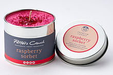 Potters Crouch perfumed candle - Raspberry Sorbet