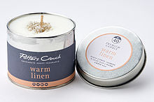Potters Crouch perfumed candle - Warm Linen