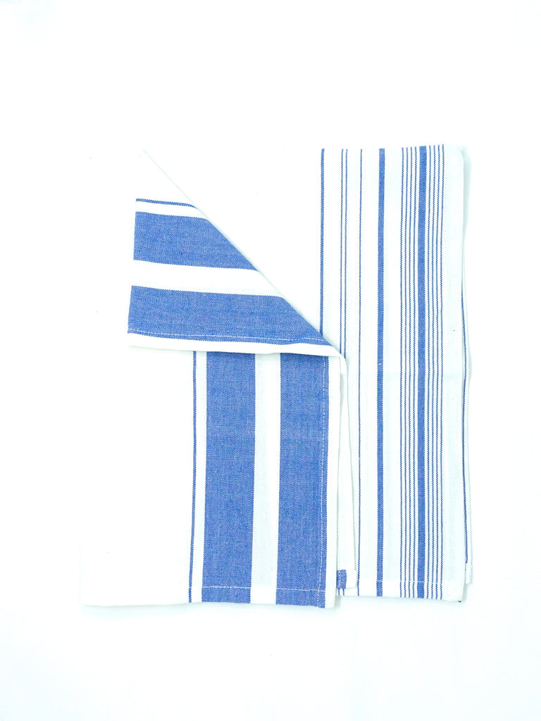 Handloom Kitchen Towel - Providence Blue