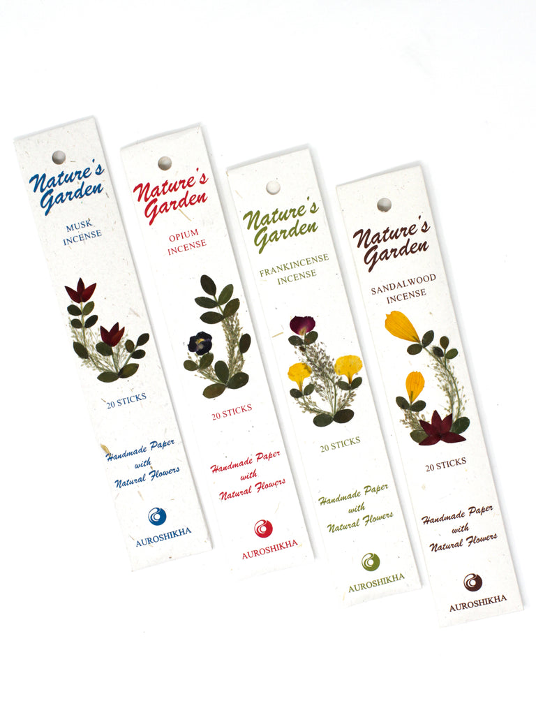 Nature's Garden Incense - Earthy Scents