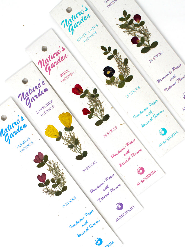 Nature's Garden Incense - Floral Scents