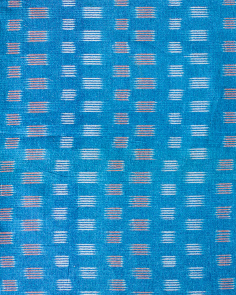 Handloom Ikat Fabric #007 - Hawaiian Surf