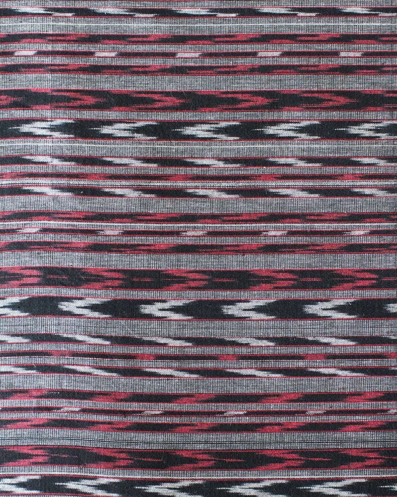 Handloom Ikat Fabric #006 - Nightshadow Samba