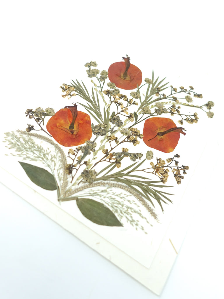 Bloom Pressed Flower Card - Lily