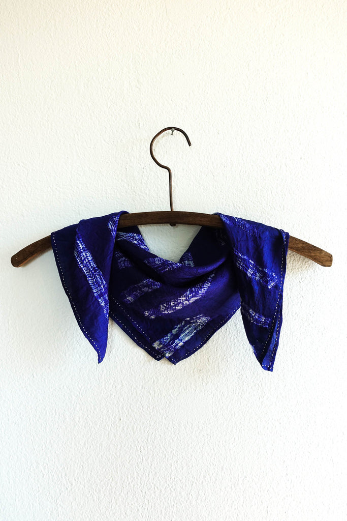Silk Shibori Neckerchief