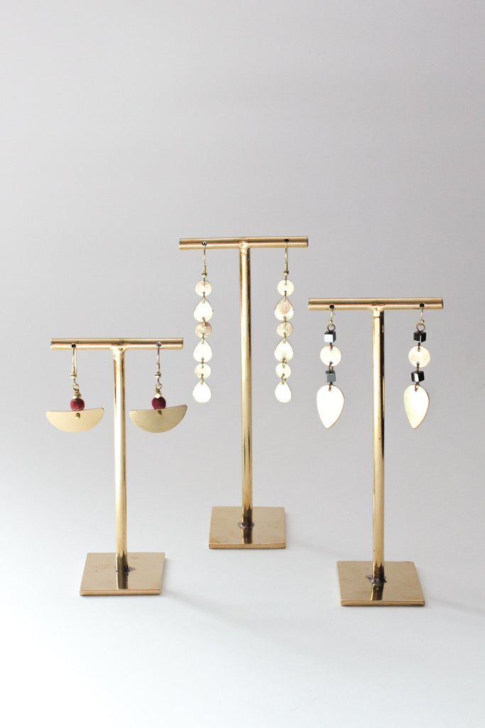 Set of 3 Earring Stand fair trade fashion - Rover & Kin