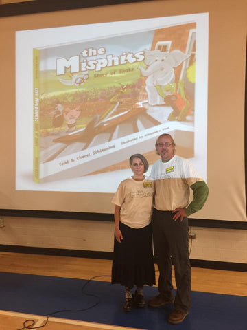 The Misphits Kentucky Elementary School Author Readings, Todd and Cheryl Schleuning, Kentucky Children's Authors