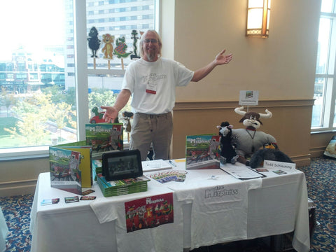 Children's Author Todd Schleuning at the KRA (Kentucky Reading Assoication) Conference