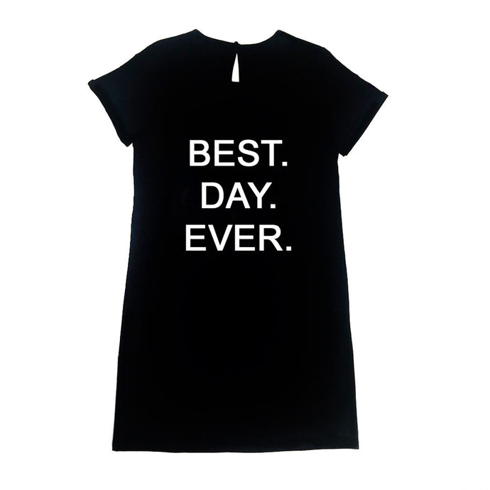 Prep Dress - Best.Day.Ever. in Black