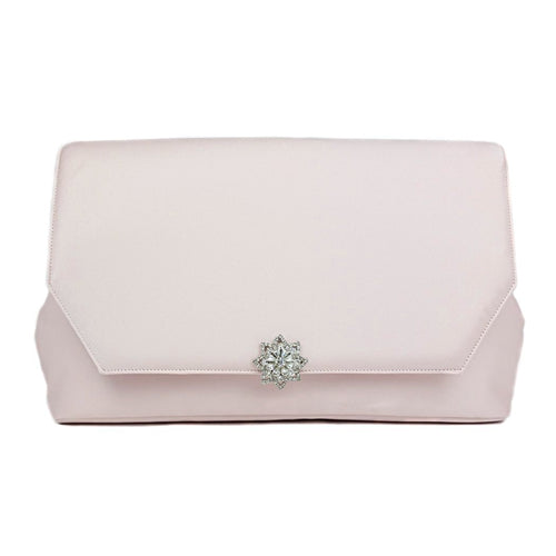 Blush Clutch with Vintage Star