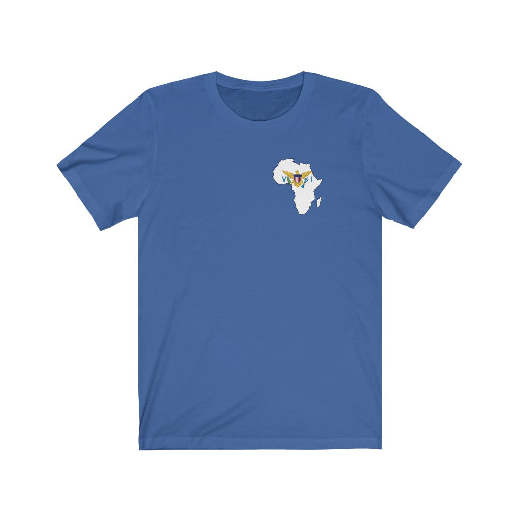 THE VIRGIN ISLAND - AFRICA  Unisex Short Sleeve Tee