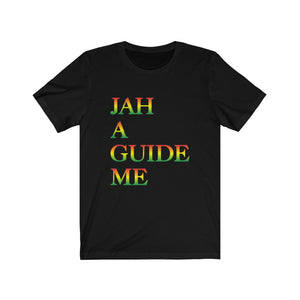"The ""JAH A GUIDE ME""   Unisex Short Sleeve Tee"