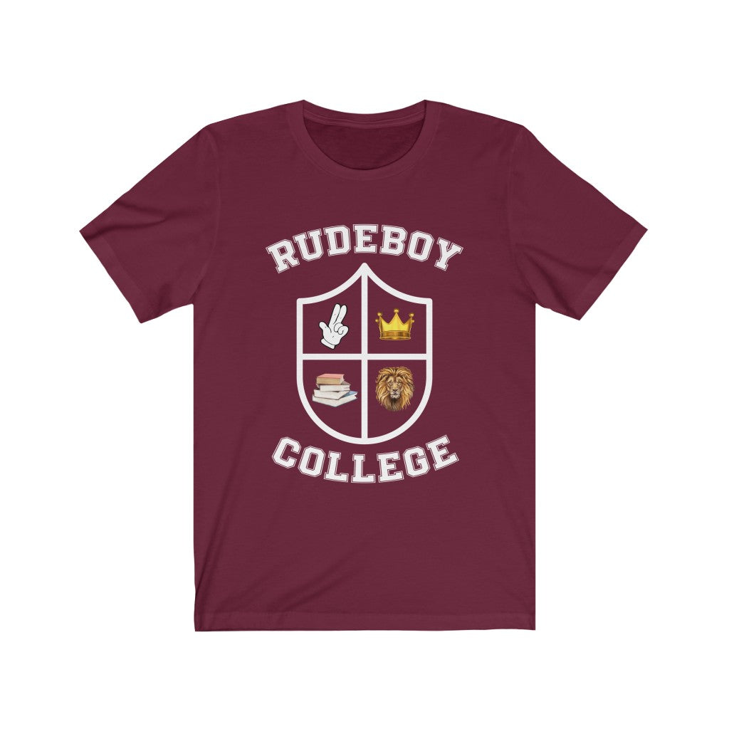 THE RUDEBOY COLLEGE  Unisex Short Sleeve Tee