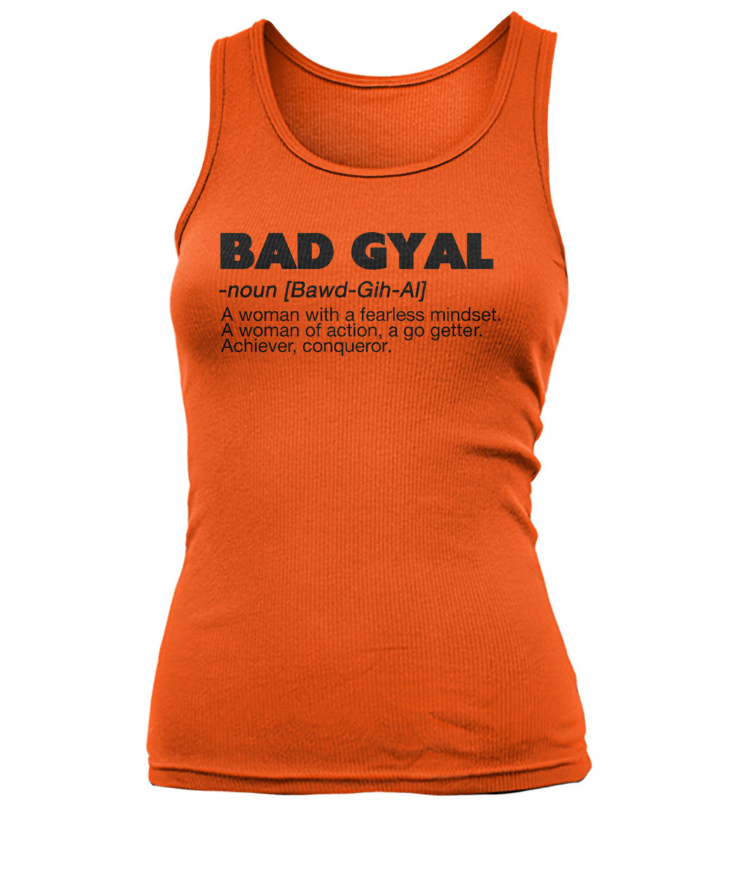 Definition BAD GYAL TANK - Rice & Tees