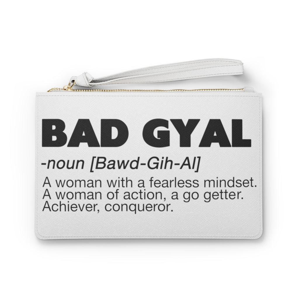 BAD GYAL DEFINITION Clutch Bag