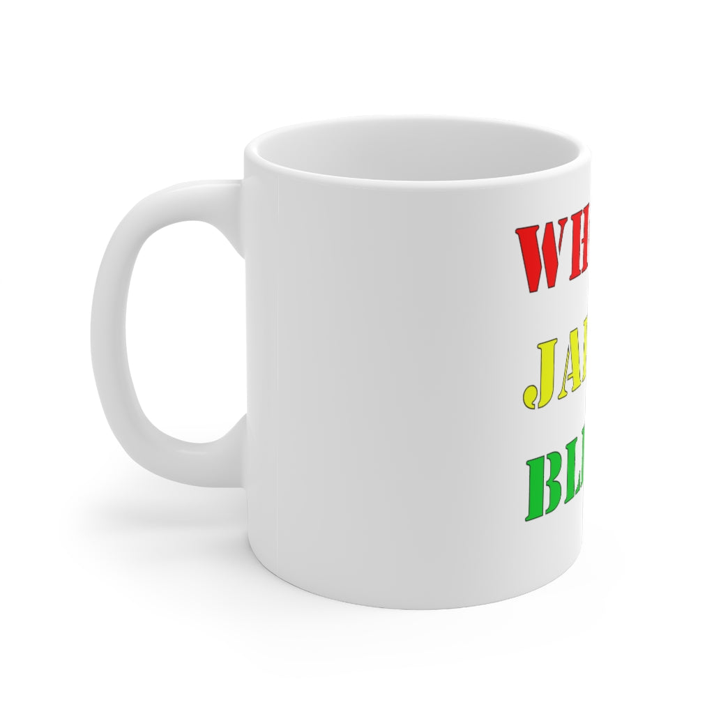 WHO JAH BLESS Mug 11oz