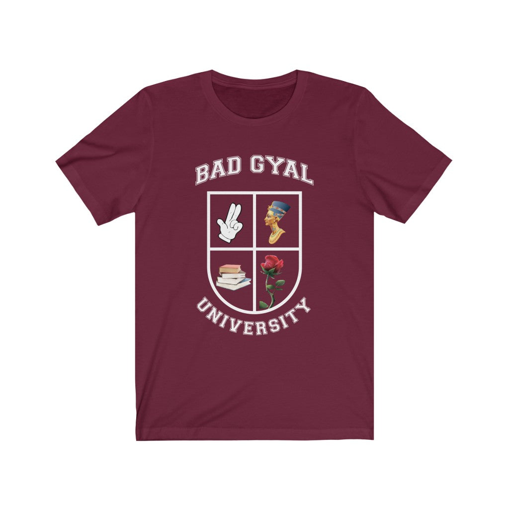 THE BAD GYAL UNIVERITY  Short Sleeve Tee