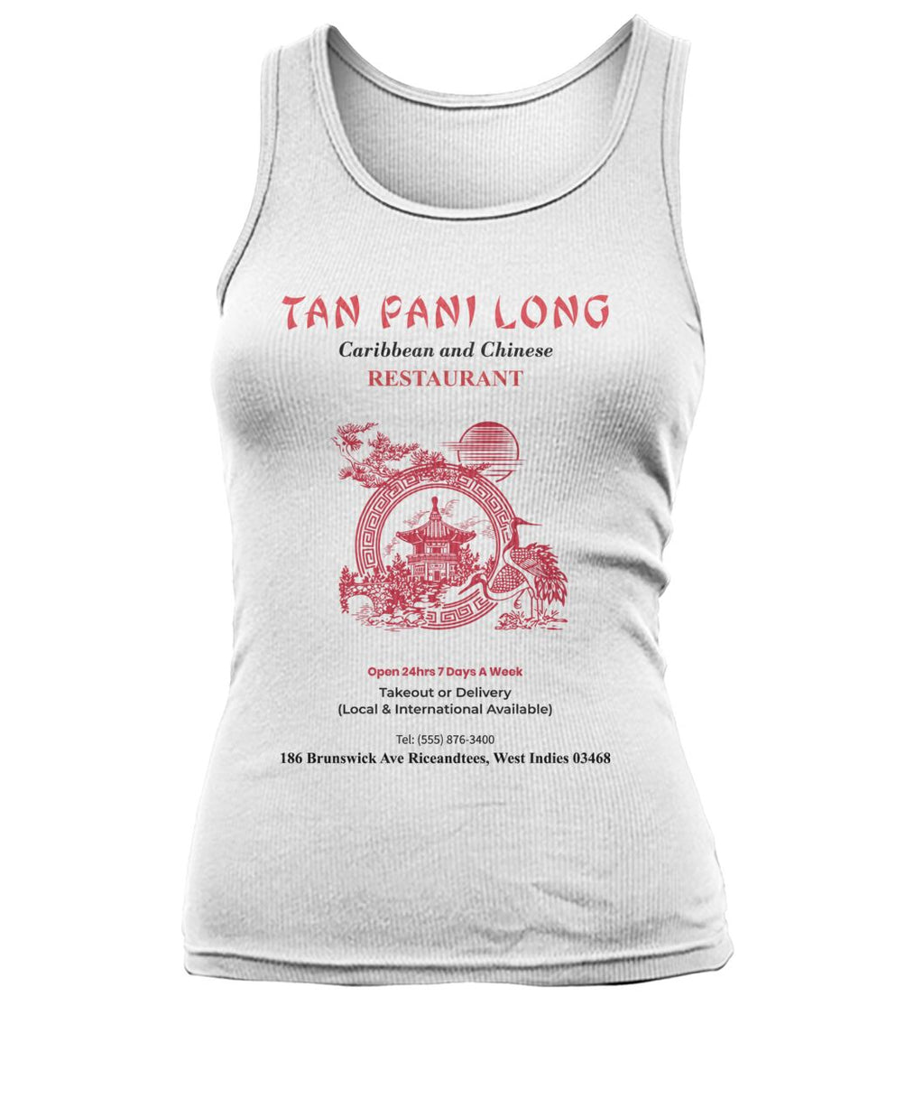 Tan Pani Long Restaurant Tank Top Women's Tank Top