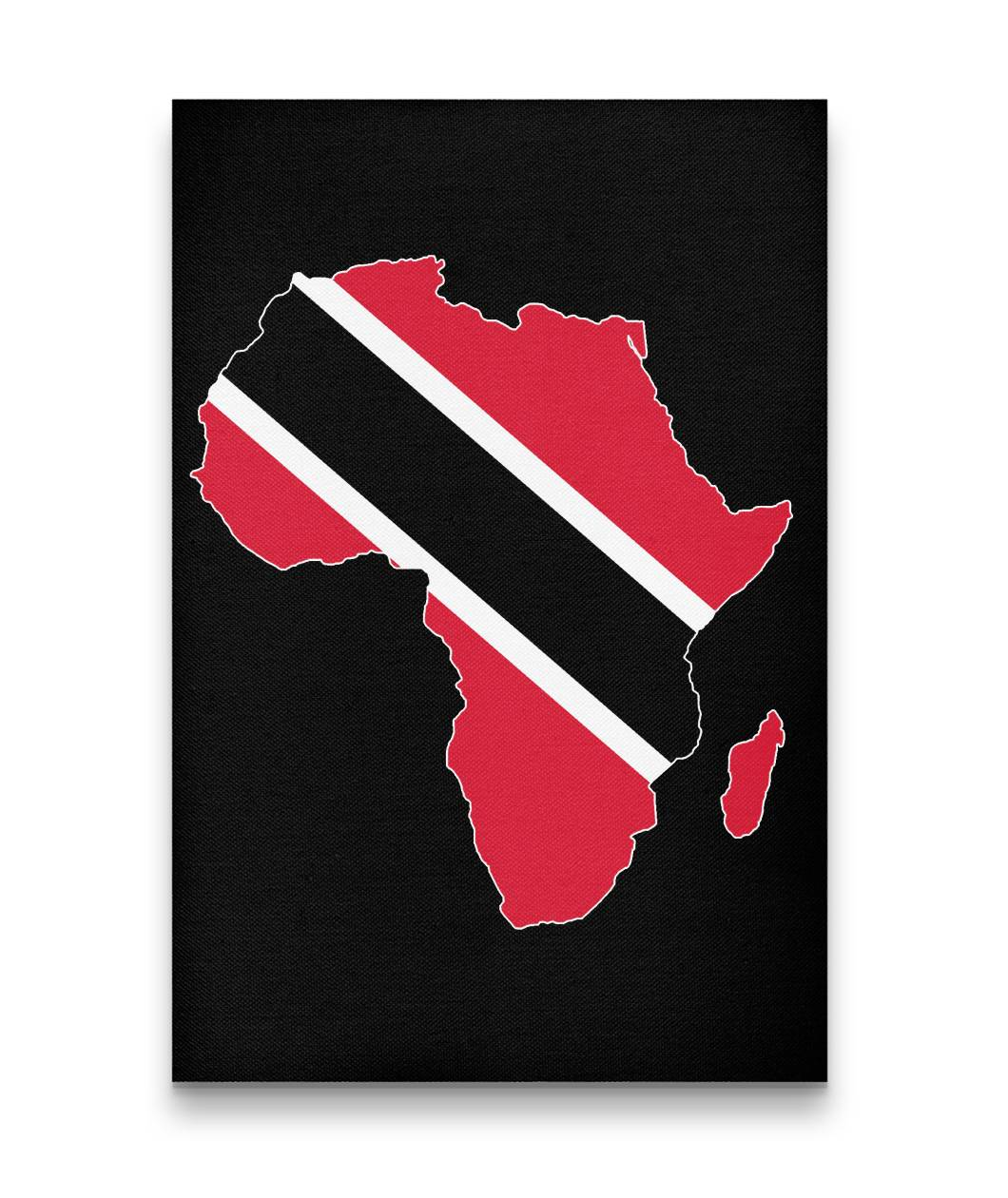 CARIBBEAN CONTINENT TRINIDAD CANVAS ART - Rice & Tees