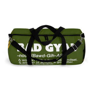 THE BAD GYAL ARMY  Duffle Bag - Rice & Tees