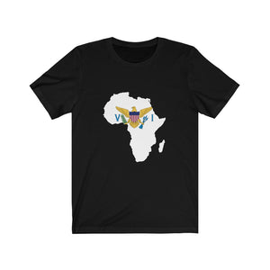 AFRICA- VIRGIN ISLANDS Unisex Jersey Short Sleeve Tee