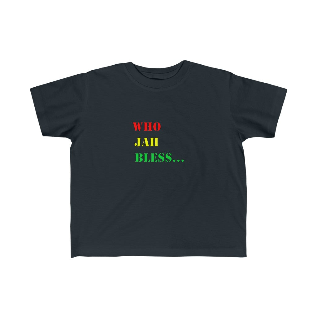 WHO JAH BLESS TODDLER Fine Jersey Tee