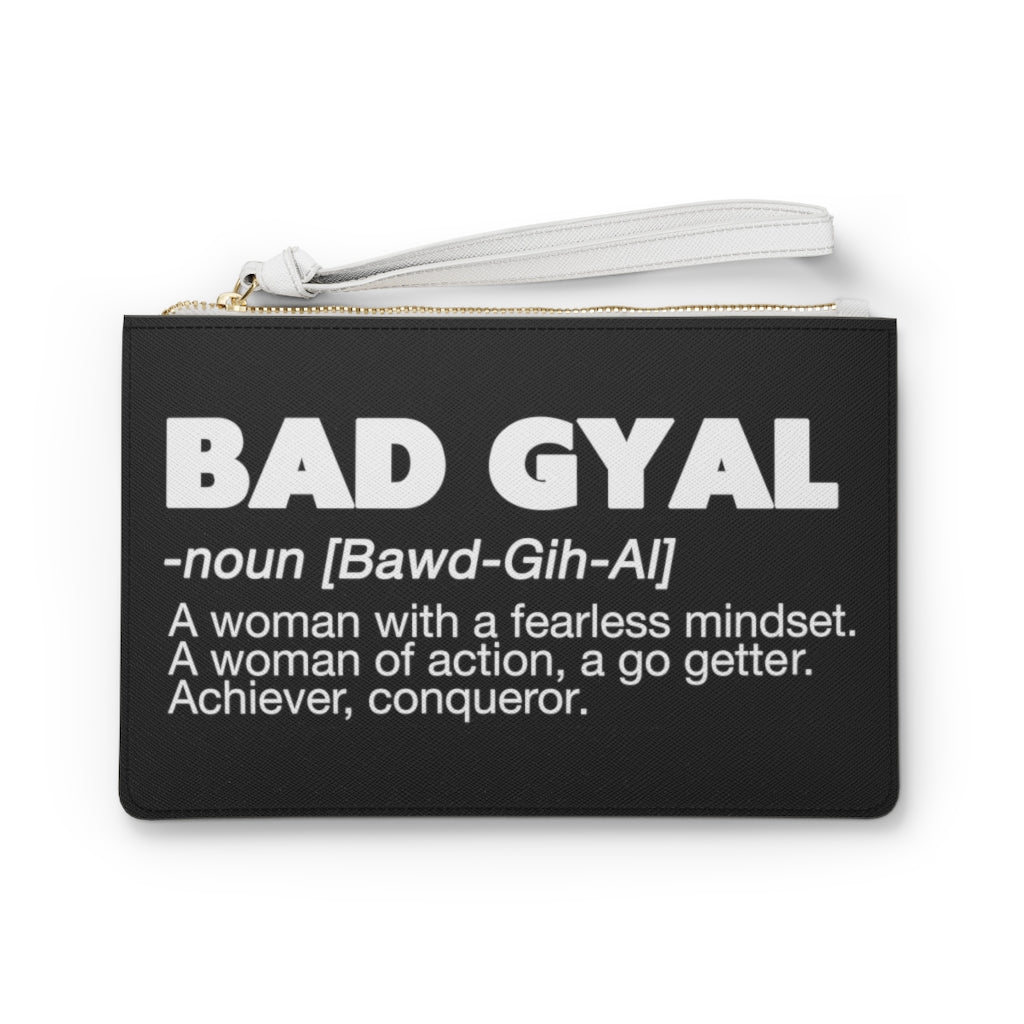 BAD GYAL DEFINITION Clutch Bag (black)