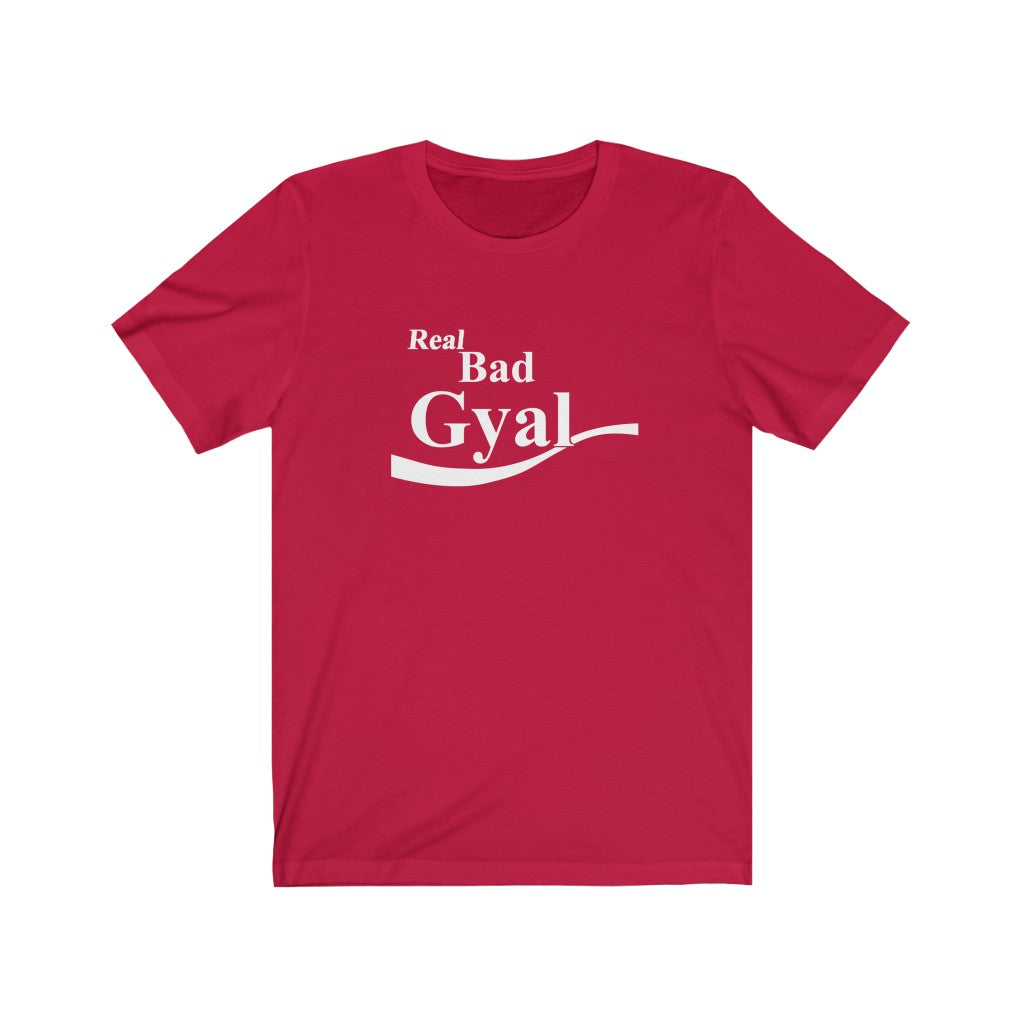 REAL BAD GYAL COLA BOKKLE Unisex Jersey Short Sleeve Tee