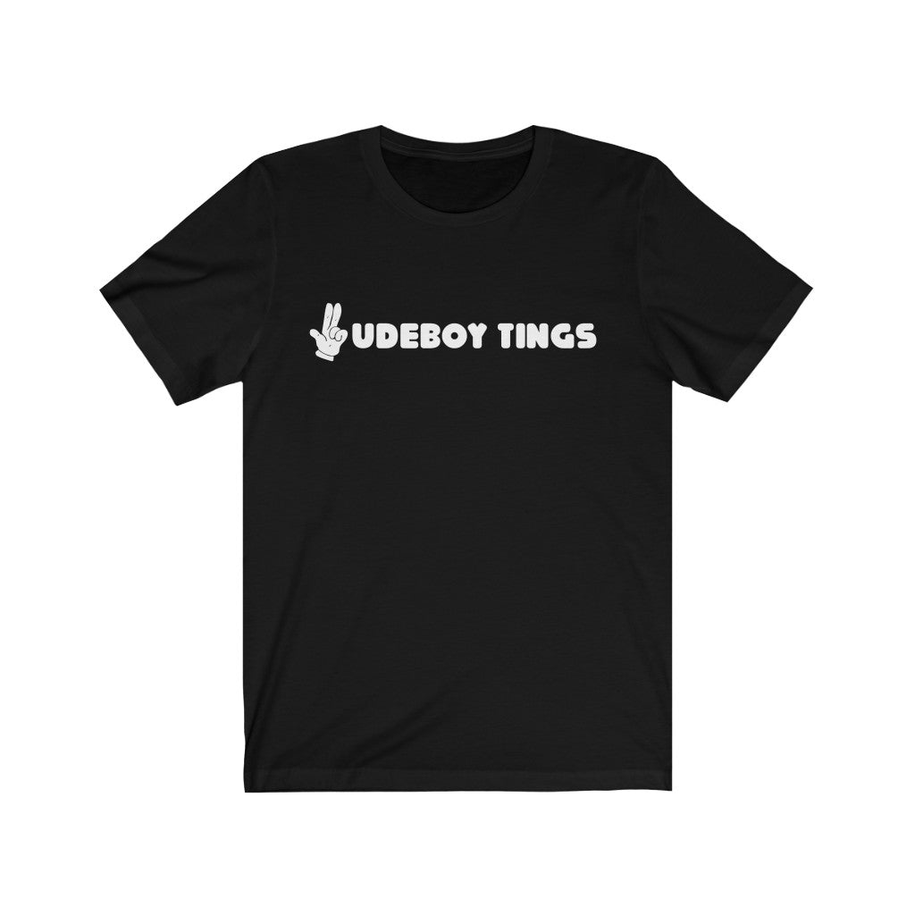 The Rudeboy tings Cartoon Gunfinger Unisex Jersey Short Sleeve Tee