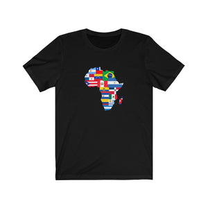 The Afro Latino AF  Unisex Short Sleeve Tee