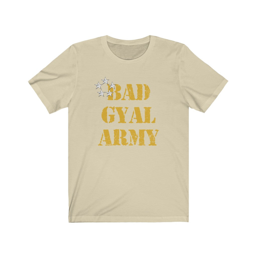 The Bad Gyal Army  Unisex Short Sleeve Tee