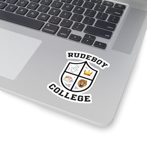 RUDEBOY COLLEGE Kiss-Cut Stickers