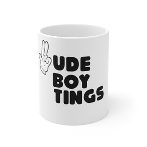 RUDEBOY TINGS GUN FINGER Mug 11oz