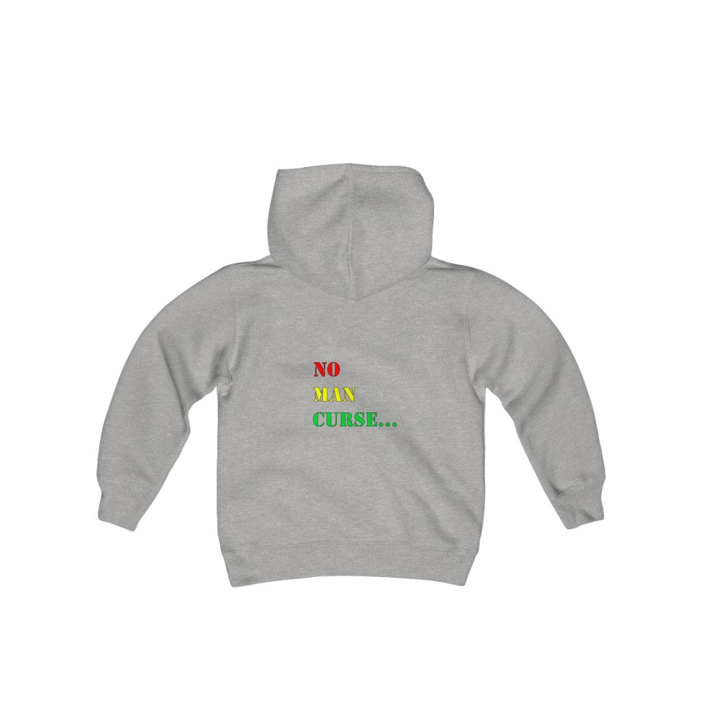 WHO JAH BLESS...Youth Heavy Blend Hooded Sweatshirt