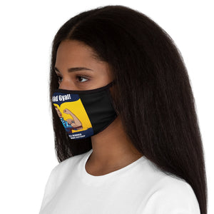 BE A BAD GYAL Fitted Polyester Face Mask