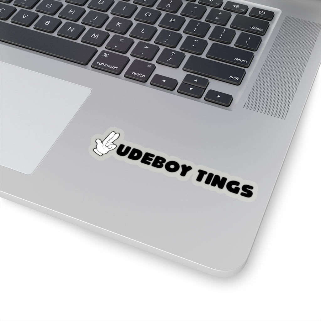 RUDEBOY TINGS  GUNFINGER 2 Kiss-Cut Stickers