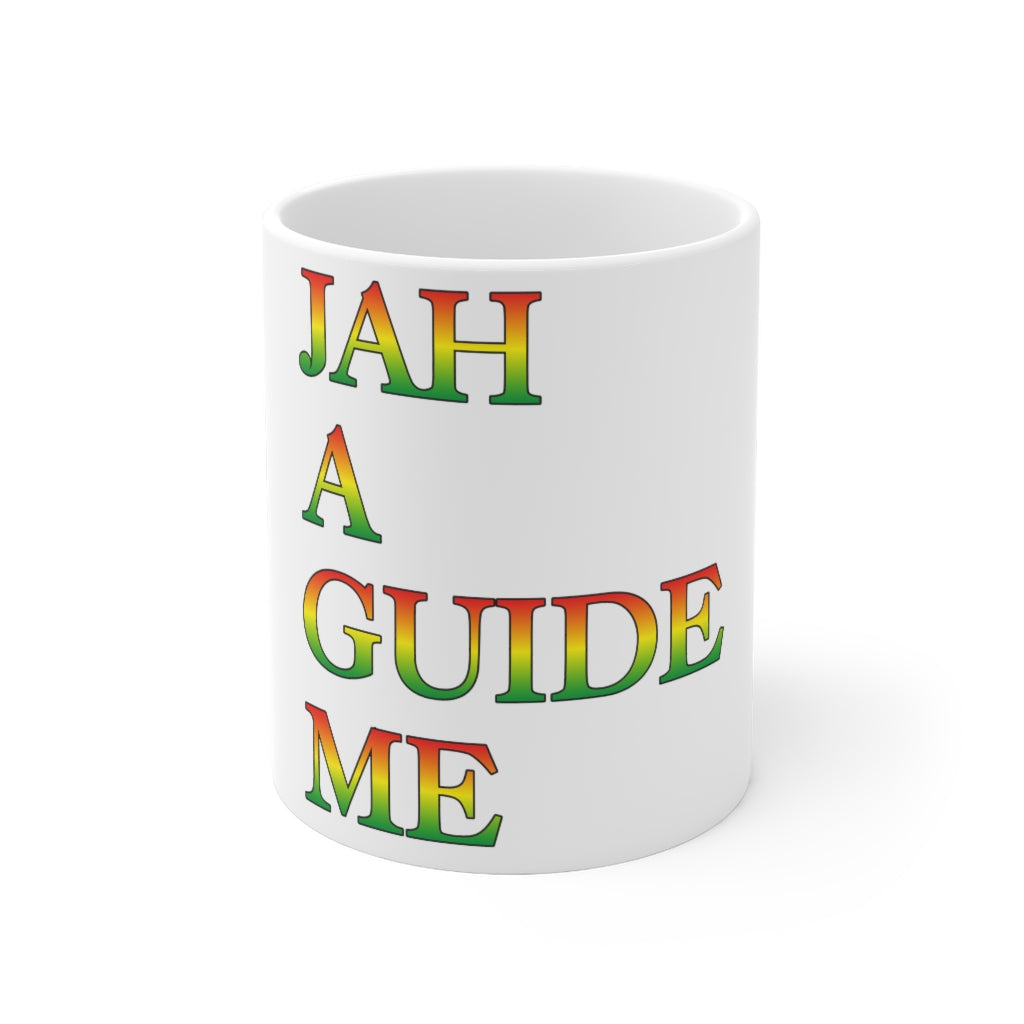 JAH A GUIDE  Mug 11oz