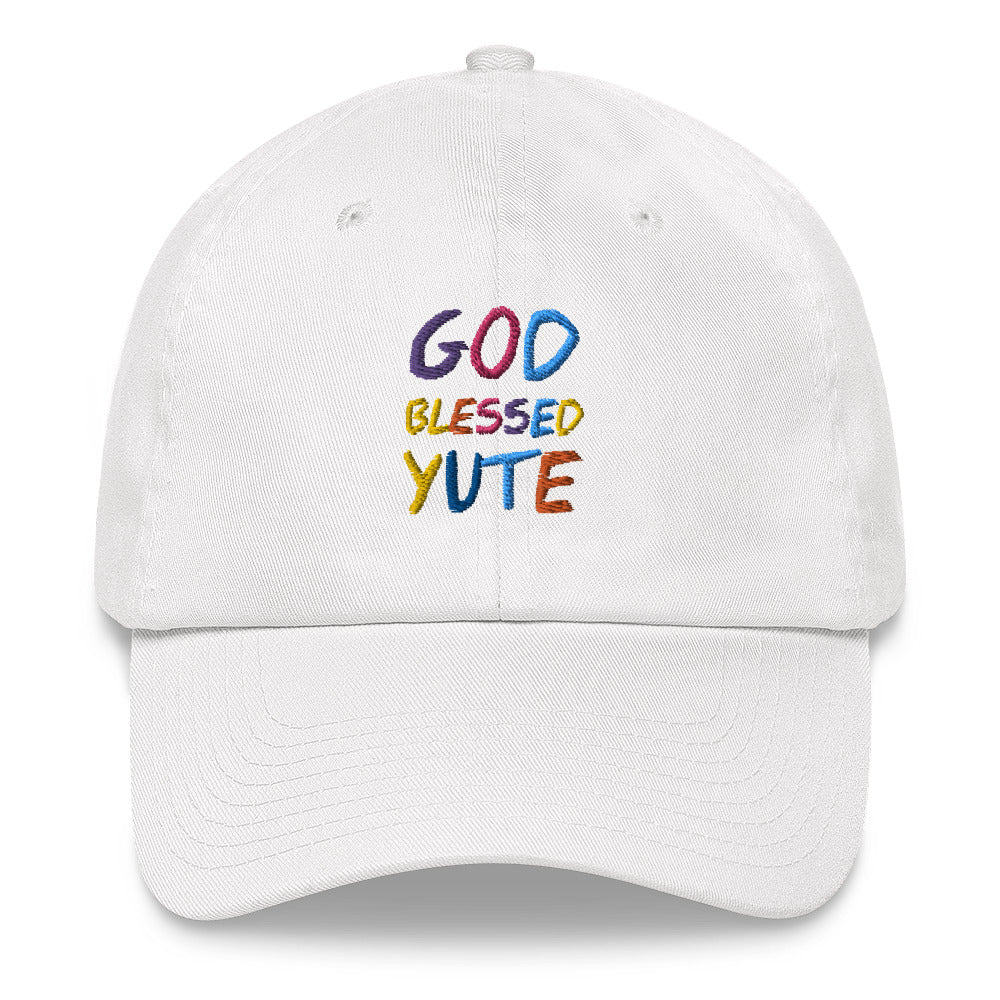 GOD BLESSED YUTE Dad hat