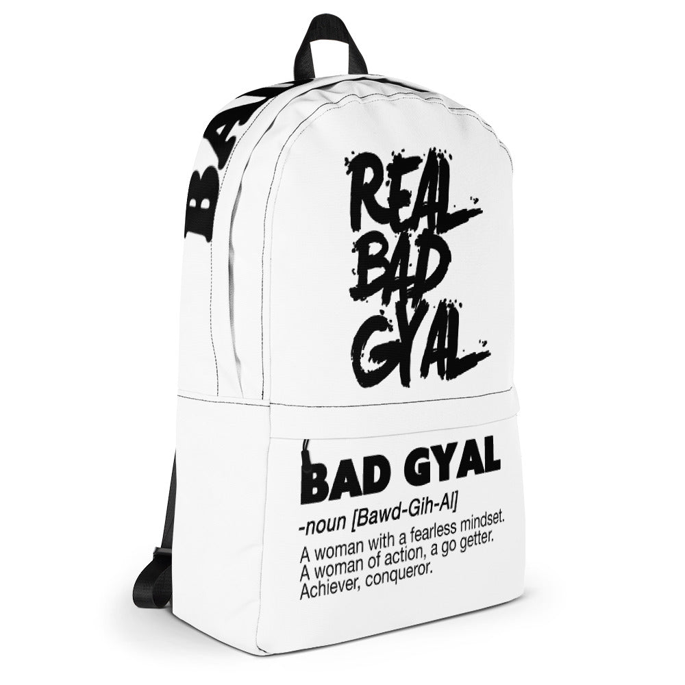 THE BAD GYAL COLLECTION Backpack - Rice & Tees