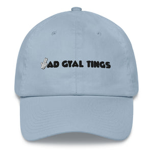 "BAD GYAL TINGS GUNFINGER 3D-PUFF ""MOOMA""  hat"