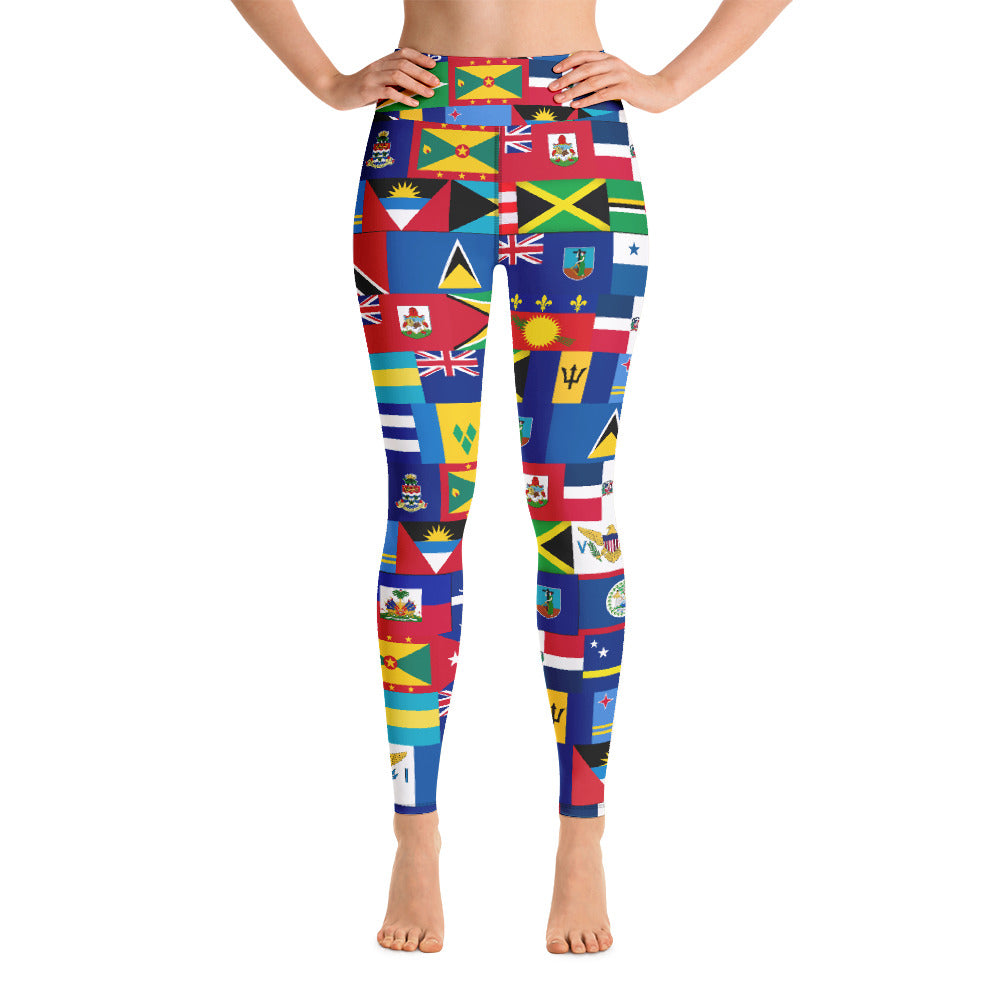 CARIBBEAN ALL INCLUSIVE Yoga Leggings - Rice & Tees