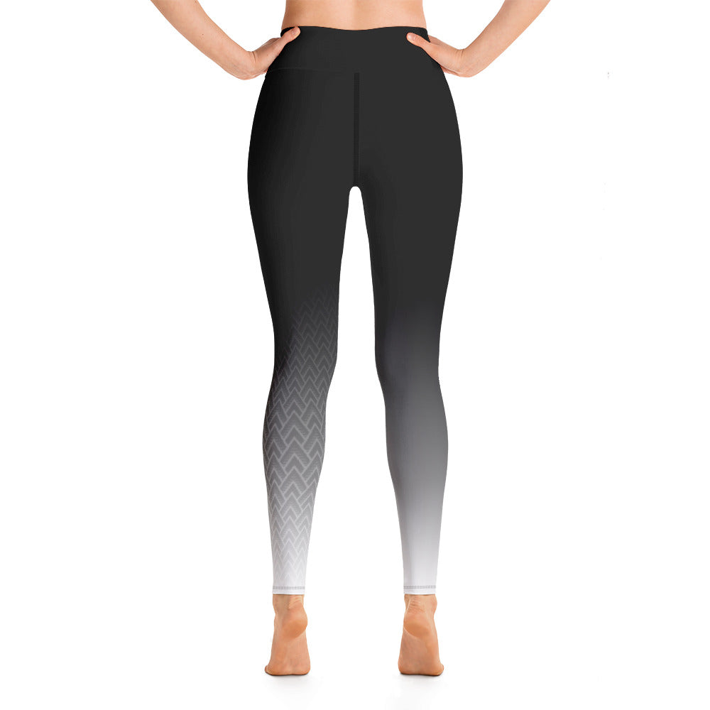 BAD GYAL Tribe Yoga Leggings - Rice & Tees