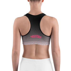 BAD GYAL Tribe Pink Sports bra - Rice & Tees