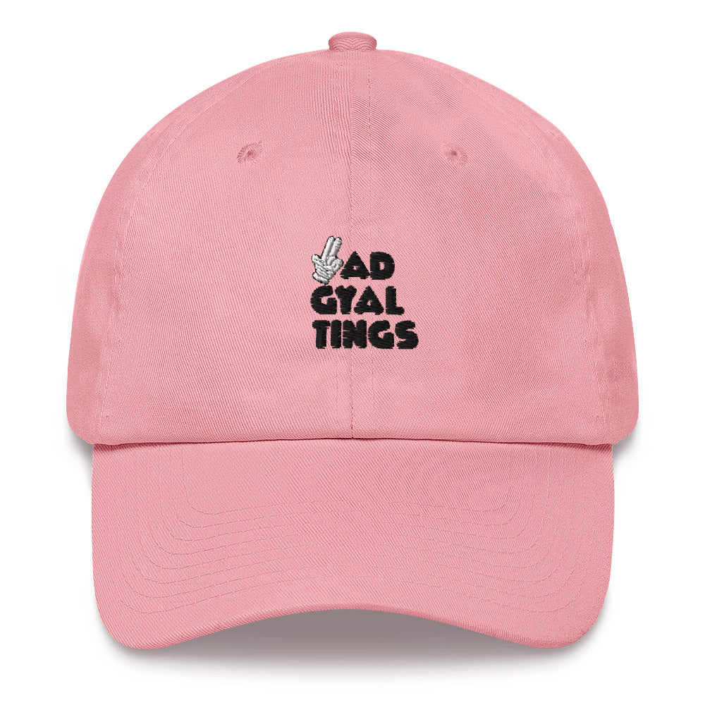 BAD GYAL TINGS GUNFINGER Dad hat