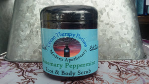 Rosemary & Peppermint Salt Scrub