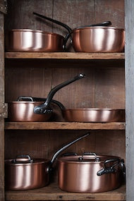 FALK COPPER COOKWARE PASSIONATELY STRIVING FOR PERFECTION