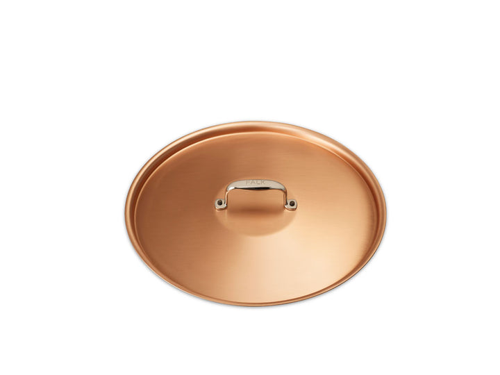 signature copper pot lid 28cm