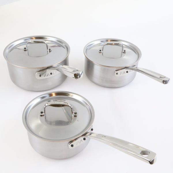 Sauce Pan Set Copper Core Line