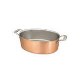 Signature Oval Copper Casserole Pan